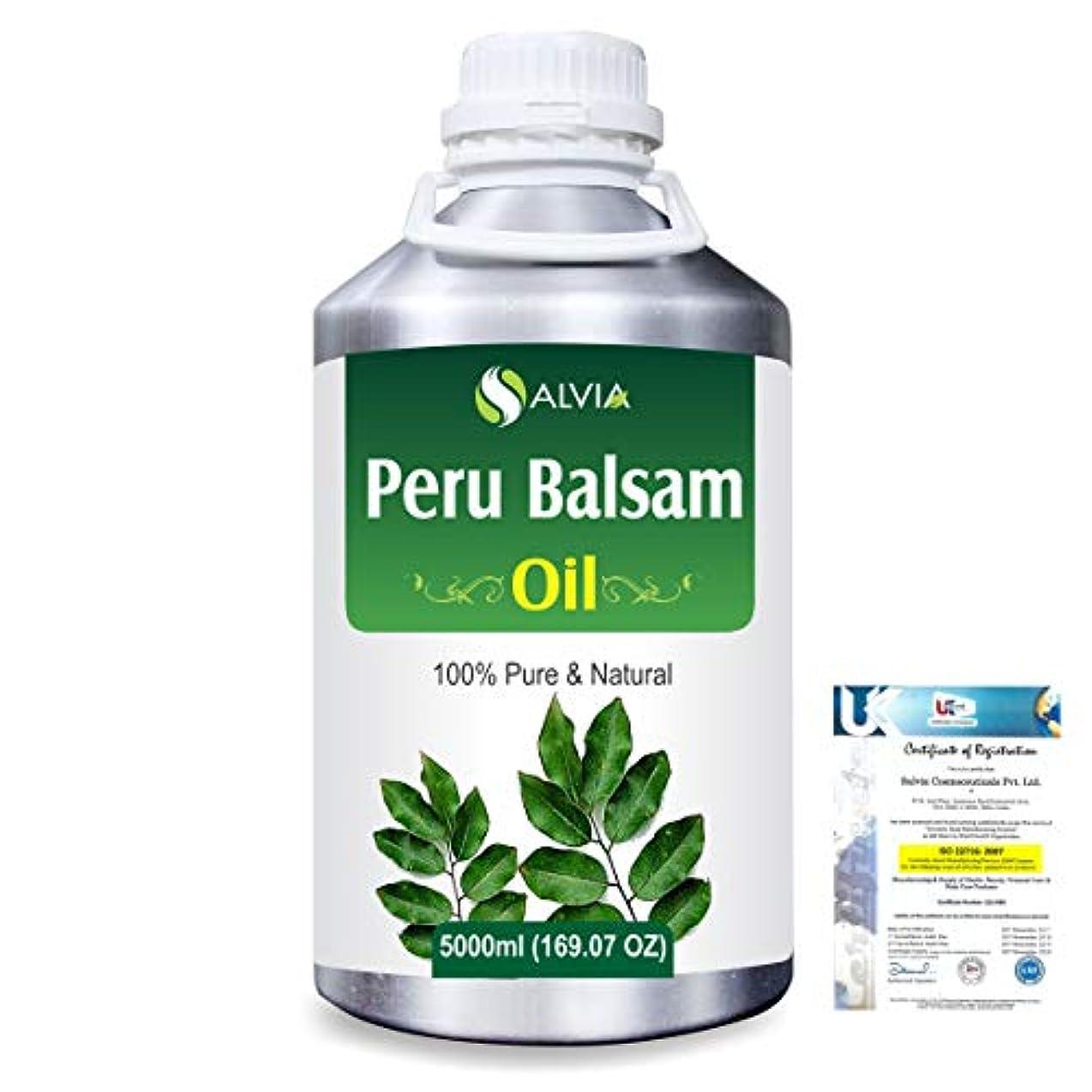 直径しなやか川Peru Balsam (Myroxylon Pereirae) 100% Natural Pure Essential Oil 5000ml/169fl.oz.