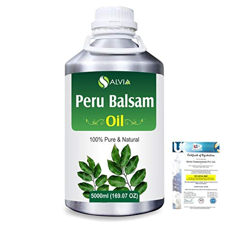 エンディング出血切り刻むPeru Balsam (Myroxylon Pereirae) 100% Natural Pure Essential Oil 5000ml/169fl.oz.