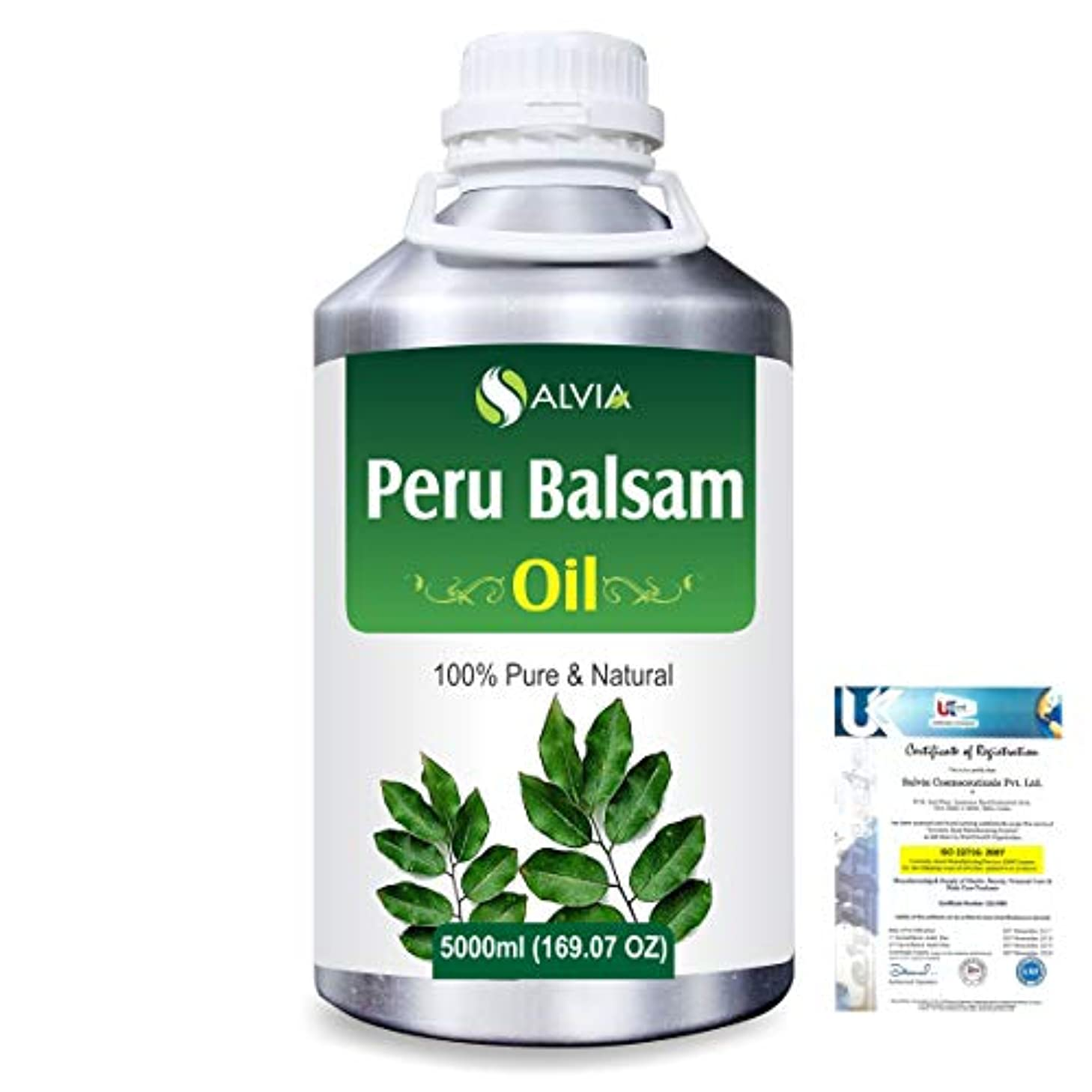 波紋散逸最高Peru Balsam (Myroxylon Pereirae) 100% Natural Pure Essential Oil 5000ml/169fl.oz.
