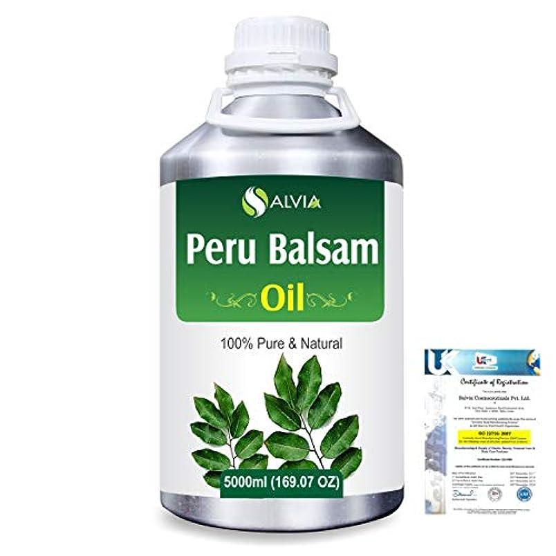理論的ポテト溶けるPeru Balsam (Myroxylon Pereirae) 100% Natural Pure Essential Oil 5000ml/169fl.oz.