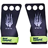 Bear KompleX Black Diamond 3 Hole Hand Grips, Great for All Bars, Speal, Barbell, Kettle Bell, Ring Work, Gymnastics, Crossfi