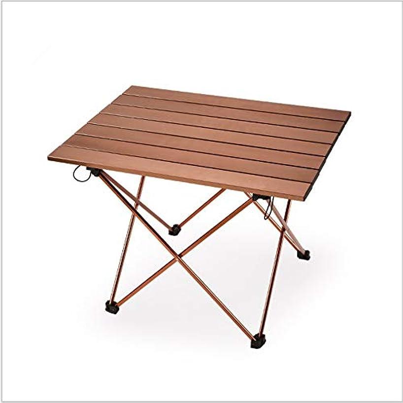 卵落ち着くページ便利なアルミ合金のピクニック用のテーブルが付いている屋外のキャンプのために適した アウトドア キャンプ用