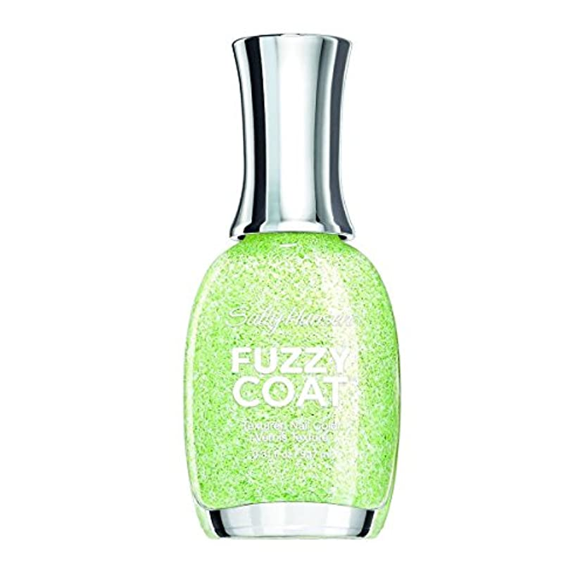 財産条件付き平行SALLY HANSEN FUZZY COAT TEXTURED NAIL COLOR #600 FUZZY FANTASY