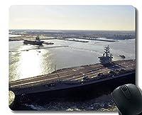 ゲーミングマウスパッド、軍用USS Dwight D. Eisenhower(CVN 69)ラップトップマウスパッドゲーミングマウスパッド