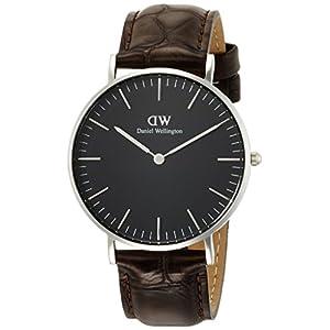 [ダニエル・ウェリントン]DanielWellington 腕時計 Classic Black York ブラック文字盤 DW00100146 【並行輸入品】