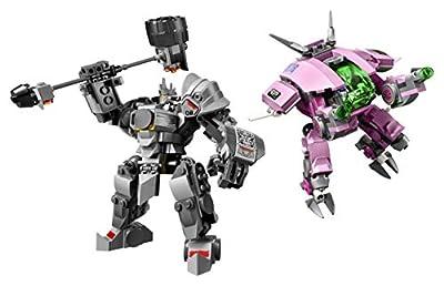 LEGO Overwatch D.Va & Reinhardt 75973 Playset Toy