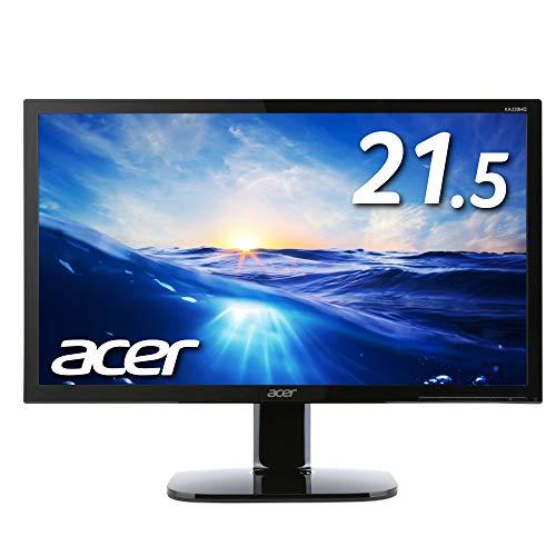 Acer モニター ディスプレイ KA220HQbmidx 21.5インチ/HDMI端子対応/スピーカー内蔵/ブルーライト軽減