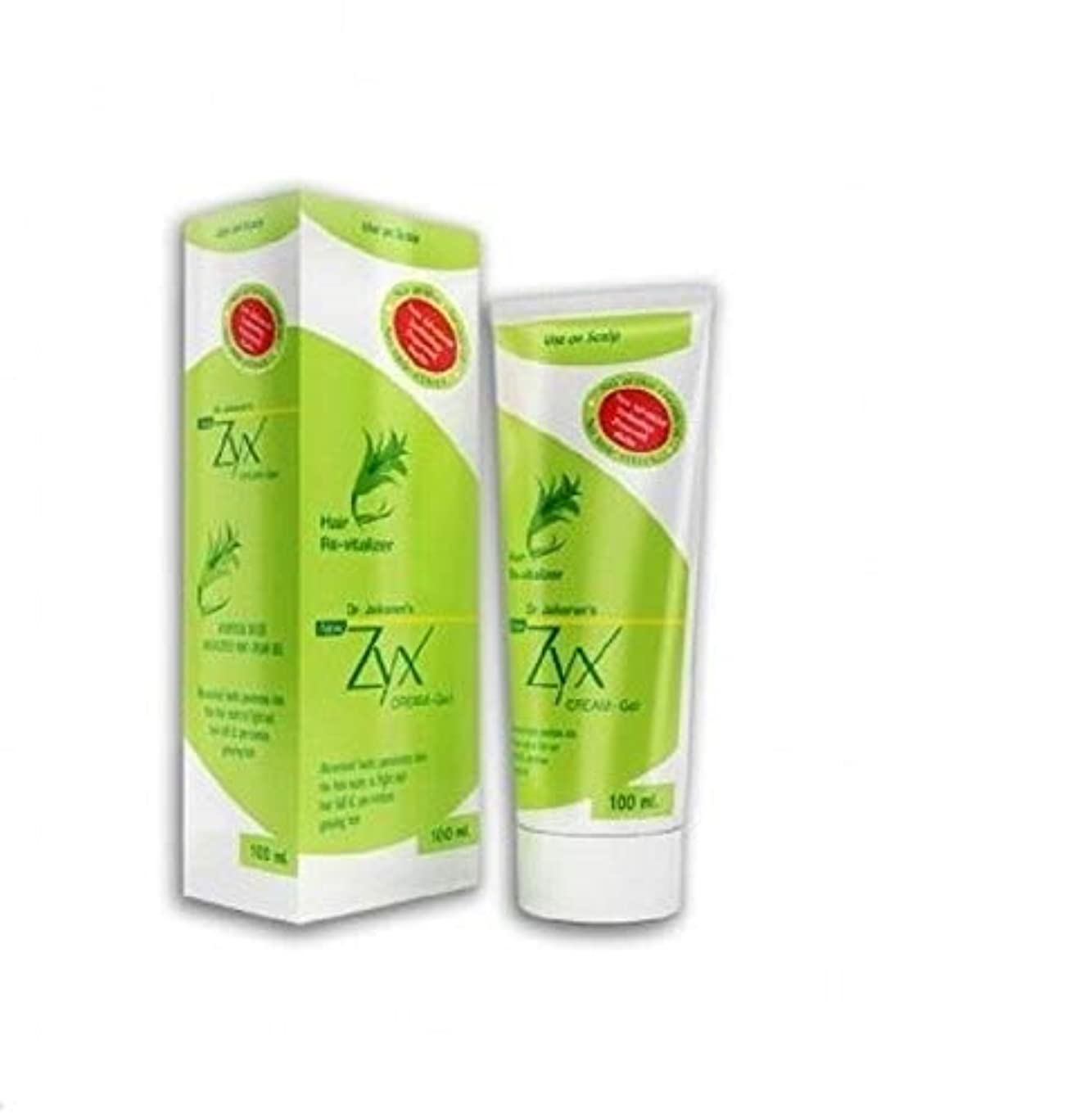 予想外名誉あるガチョウHair Cream Gel Zyx ヘアクリームジェル 100ml 100% Natural for prevention of Hair related problems 髪の毛の問題を予防するための100%ナチュラル