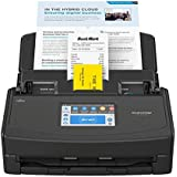 Fujitsu ScanSnap iX1500 Color Duplex Document Scanner with Touch Screen for Mac and PC, Black (2020 Release)