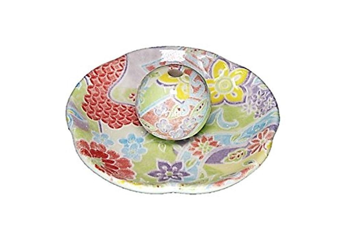 肌石の給料華舞 花形香皿 お香立て 日本製 製造 直売
