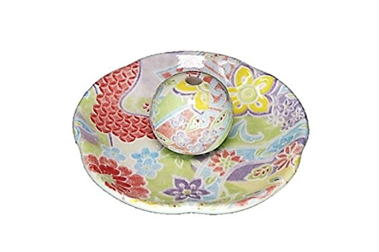 フィヨルド選ぶ韓国語華舞 花形香皿 お香立て 日本製 製造 直売