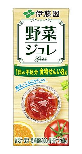 伊藤園 野菜ジュレ(紙パック)200ml ×24本