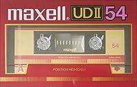 日立マクセル カセットテープ UD II 54分 ハイポジ UDII54