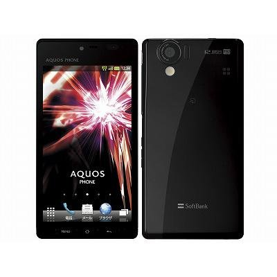 AQUOS PHONE 102SH SoftBank [ブラック]