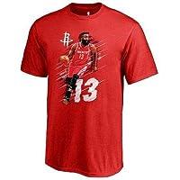NBA Fanatics Branded James Harden Houston Rockets Youth Red Fade Away T-Shirt Tシャツ(ファングッズ)【並行輸入品】