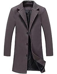 (ボナスティモーロ) Buona stimolo メンズ チェスターコート 厚手 ロング丈 暖かい カジュアル ビジネス コート