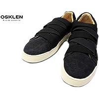 [オスクレン] OSKLEN 0000692 OSK 0096162 キャンバススニーカー(ブラック)
