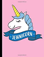 """Jewnicorn: Composition Notebook School Journal Diary 