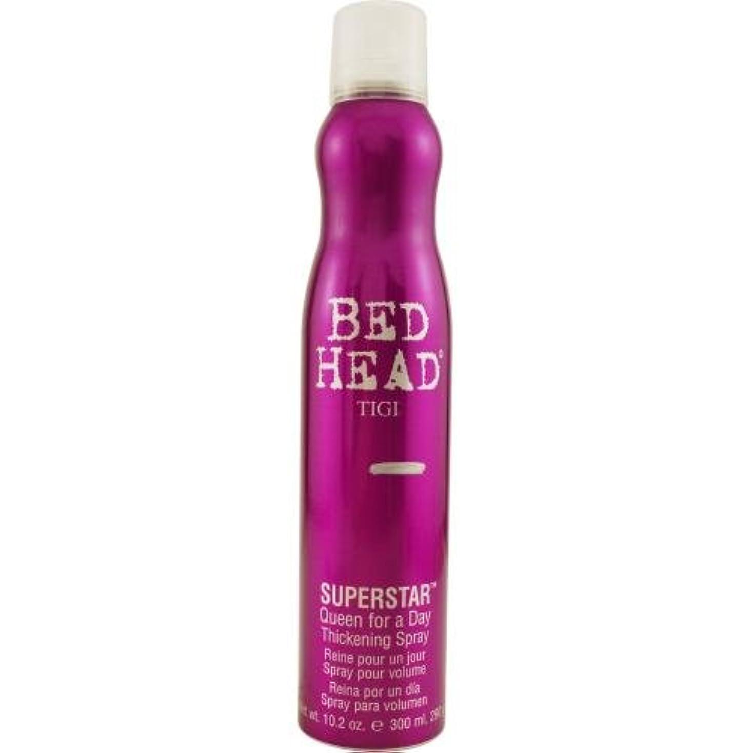 ストレッチぶら下がる天のTigi Bedhead Superstar Queen For A Day Thickening Spray New