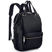 UTO Fashion Backpack Waterproof Lightweight Nylon Rucksack Removable Handles School College Bookbag Shoulder Purse
