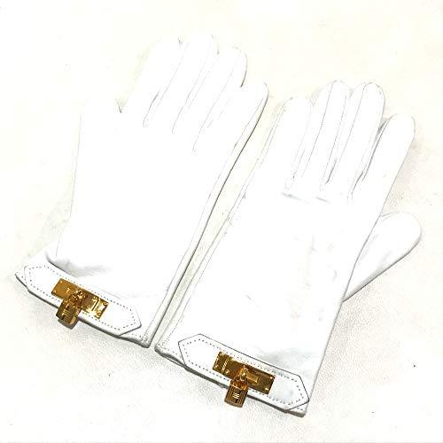 (エルメス)HERMES ケリー ファッション小物 手袋 グローブ レザー レディース 中古