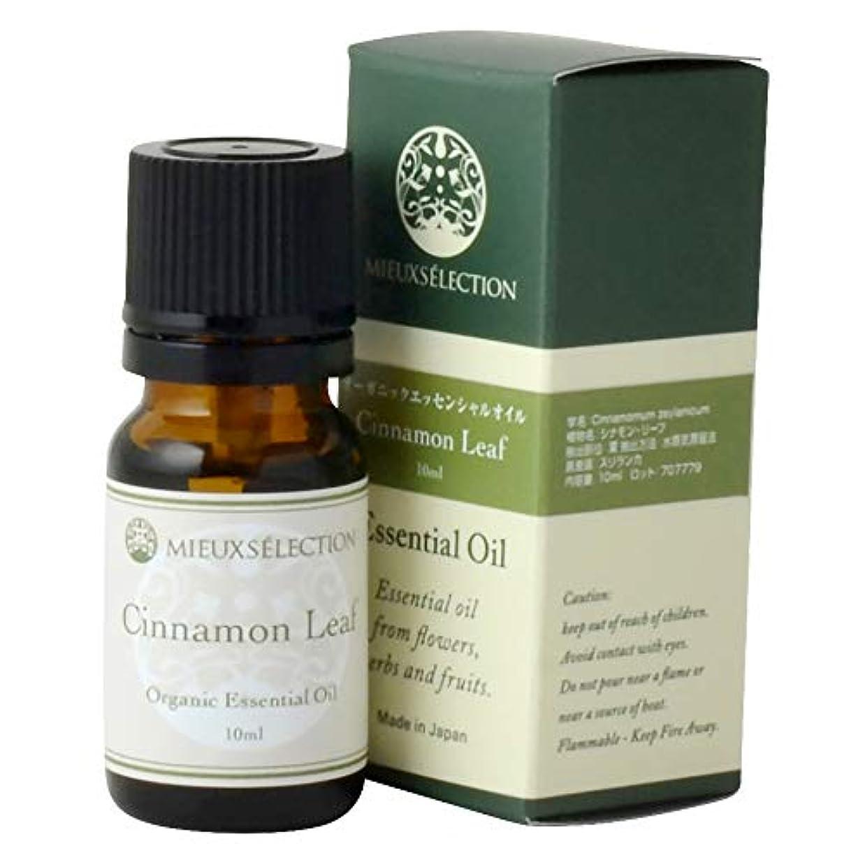 前投薬再発する関与するエッセンシャルオイル シナモンリーフ(オーガニック)10ml