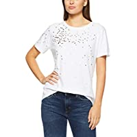 French Connection Women's Confetti TEE, Summer White/Multi