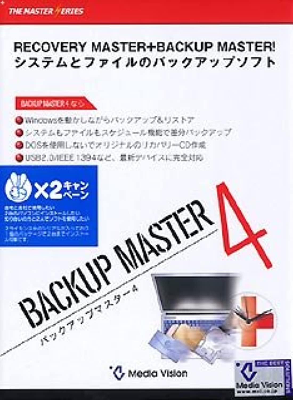 Backup Master 4 ×2キャンペーン版