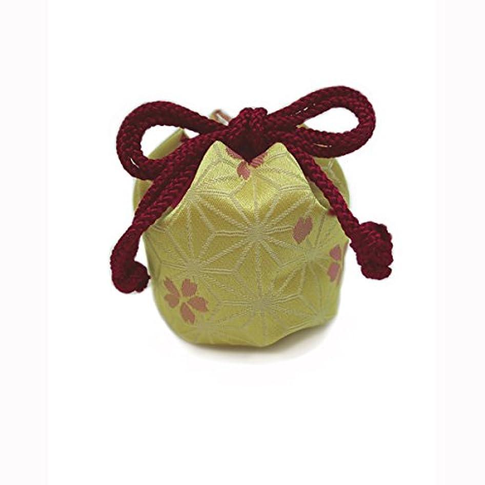採用するモッキンバード誇り御所袋 小 キンラン 黄系