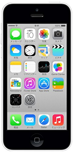 Apple SoftBank iPhone5c White 16GB (ME541J/A)