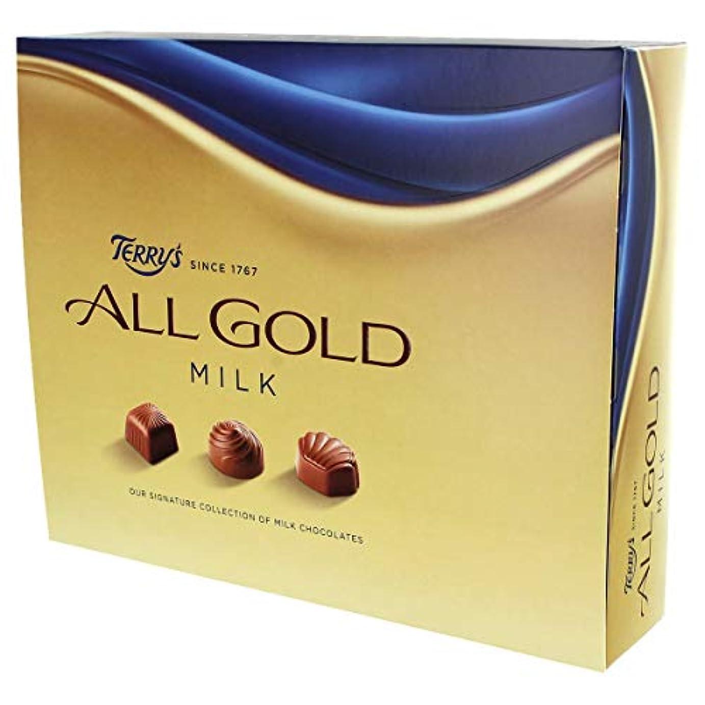 サラダアンカーフィドルTerry's All Gold Milk Chocolates (380g) テリーのすべての金のミルクチョコレート( 380グラム)