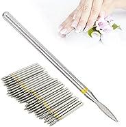 ネイルドリルビット、ネイル用ドリルビットセット 家庭用ネイルサロン用爪研ぎヘッド(XF-1.8mm)