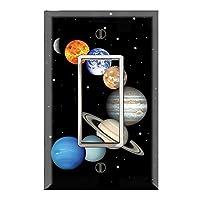 壁スイッチ/コンセントカバープレートオンDecor Wallplates–Planetスイート Midway C4-MT22