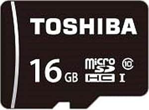 TOSHIBA microSDHCカード 16GB Class10 UHS-I対応 (最大転送速度40MB/s) 5年保証 (国内正規品) MSDAR40N16G