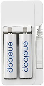 SANYO eneloop USB専用充電器セット(単3形 eneloop 充電池 2個付) N-MDU01S
