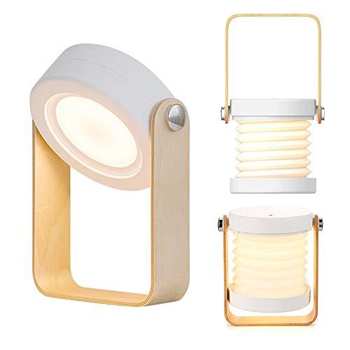 インテリア テーブルライト 間接照明 ベッドサイドランプ テーブルランプ LEDライト 充电式 和風...