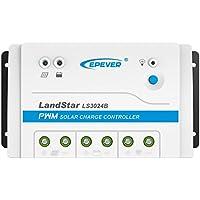 ソーラー充電コントローラ PWM LS1024B LS2024B LS3024B 12V/24Vオートワーク ソーラーライティングシステム用 複数ロード作業モード 手動制御 (Style : 30ALS3024B)