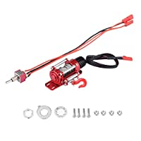 RCカーウィンチ RCクローラー用 1:10 RCクローラーメタリックウインチ 玩具ウインチシミュレーター