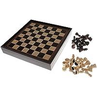 Baosity 木製 国際チェス チェス盤 チェスピース ボードゲーム