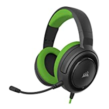 Corsair HS35 - Stereo Gaming Headset - Memory Foam Earcups - Headphones Designed for Xbox One, PC and Mobile – Green