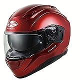オージーケーカブト(OGK KABUTO)バイクヘルメット フルフェイス KAMUI3 シャイニーレッド (サイズ:L) 584733