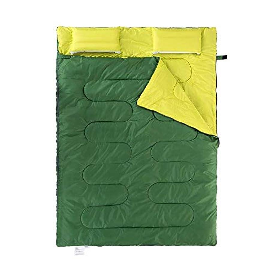 収束する拮抗する世紀MGIZLJJ 軽量寝袋二重寝袋十代の若者たち - 20度 - 4シーズン - 封筒ミイラ二重 - 軽量ポータブル防水キャンプ用品装備、旅行、そしてアウトドア