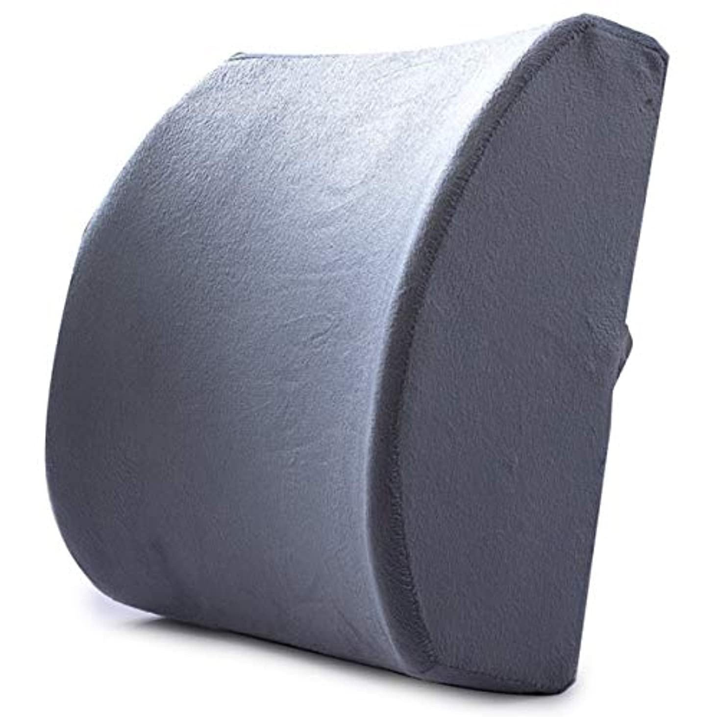 名目上の採用間に合わせMemory Foam Lumbar Support Waist Cushion Pillow For Chairs in the Car Seat Pillows Home Office Relieve Pain
