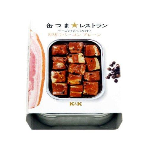 K&K 缶つま★レストラン 厚切りベーコン プレーン  105...