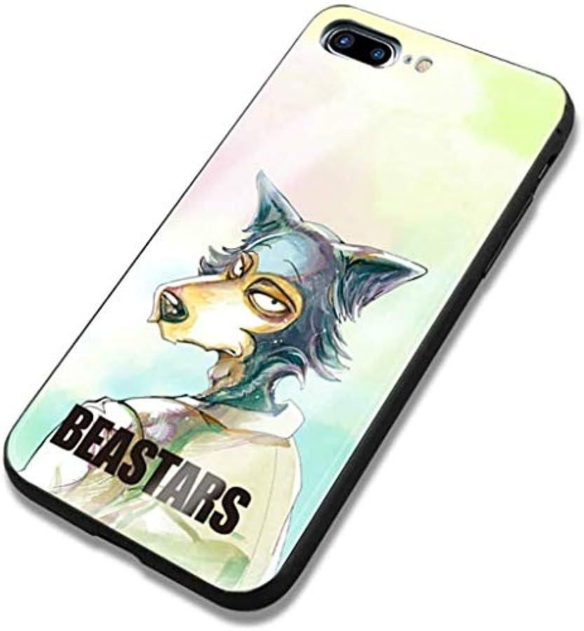 アンデス山脈意味レモンiPhone7 iPhone8 plus 動物 BEASTARS コスプレ 携帯電話の殻 ビースターズ アニメ 漫画 アイフォン スマホケース スマホカバー IPHONE 7 8 プラス 保護ケース 強化 鏡面ガラス ハードケース
