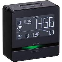 キングジム 時計 スマートアラーム リンクタイム 黒 LT10??