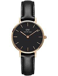 ダニエル・ウェリントンクラシック小柄' Quartz Gold andレザーCasual Watch, Color : Black (Model : dw00100224)