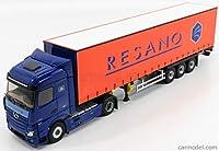 メルセデス ベンツ アクトロス 2 トラック ミニカー 1/43 ELIGOR MERCEDES BENZ ACTROS II 1845 STREAMSPACE TRUCK TELONATO RESANO TRANSPORTS 2014