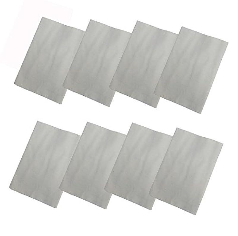 コットンフランネル8枚組(ヒマシ油用) 無添加 無漂白 平織 両面起毛フランネル生成