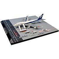 全日空商事 1/400 747SR-100 JA8157 ラストフライト ドアオープン 地上支援車輌17点セット 完成品